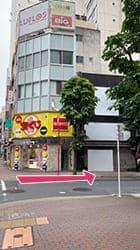 銀座駅から当店までの道順5
