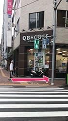 東銀座駅から当店までの道順3